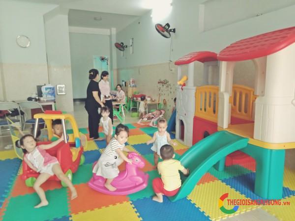 Sang trường mầm non tại Tân Tạo Bình Tân